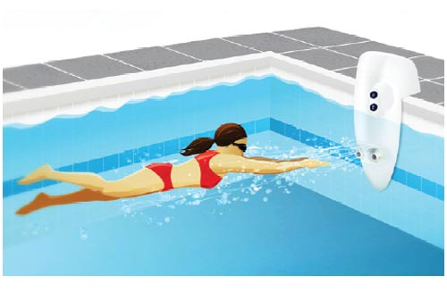 Speck BaduJet Inspiration SwimJet System | 4HP 15\' GFCI Cord - Over the  Wall | JS431-2411F-1OW
