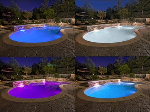 J Amp J Electronics Colorsplash Color Led Pool Light Lpl F1c