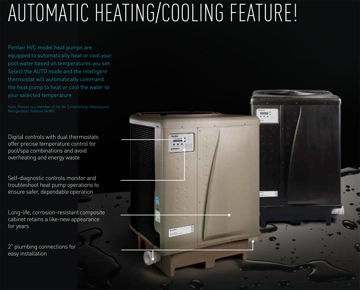 Pentair Ultratemp Heat Pump 140k Btu 460928 Wiring Why Should You Choose An Ultra Temp Thats Easy It Offers The Longest List Of Standard Features Available