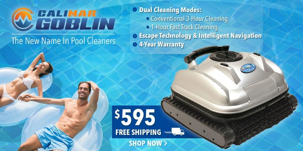 CaliMar® Goblin Robotic Pool Cleaner