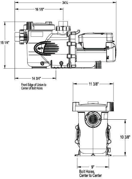 Jandy Epump Variable Speed Pump