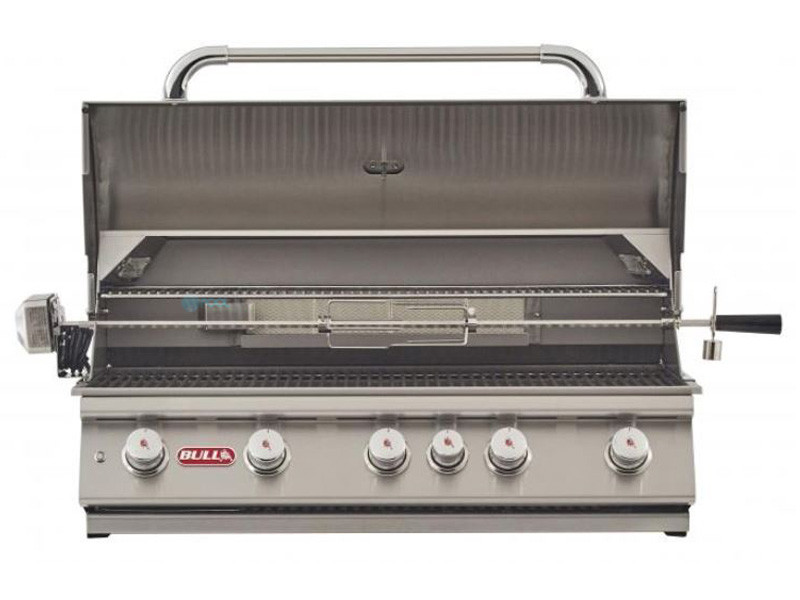 Bull Barbecue Brahma 38 5 Burner Built In Propane Grill With