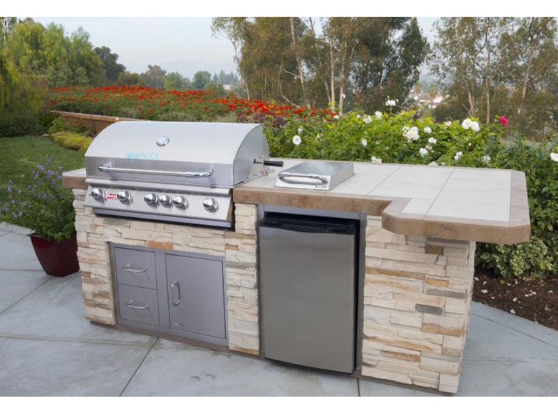Bull Barbecue Brahma 38 5 Burner Built In Natural Gas Grill With
