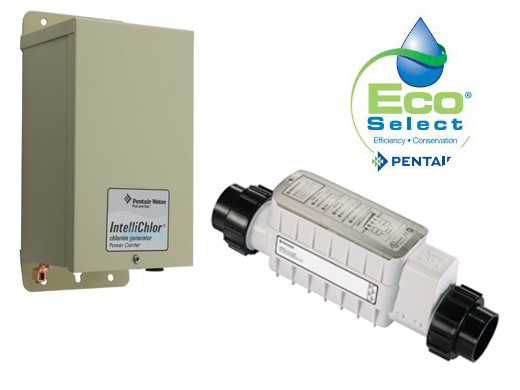 Pentair Intellichlor Salt Chlorine Generator 40 000 Gallon Complete System Ic40kit