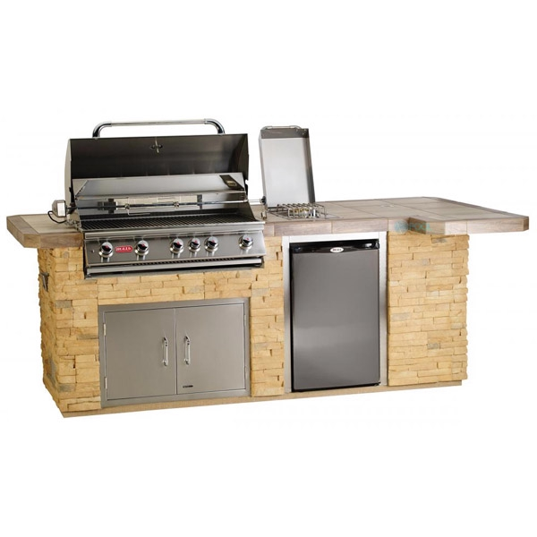 Gourmet Q Outdoor Grill Island By Bull Outdoor Products: Bull Outdoor Products BBQ Island In Stucco