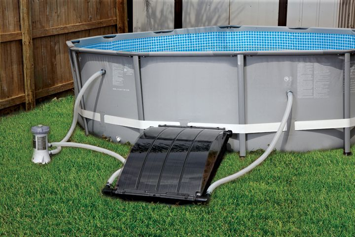 Smartpool solar arc solar heating system s204 - How to build a swimming pool heater ...