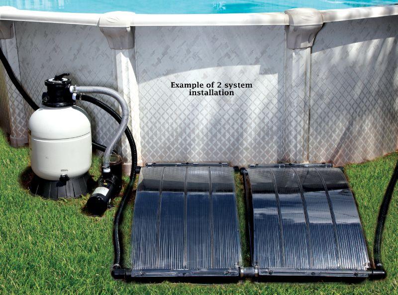 Smartpool Solar Arc Solar Heating System S204