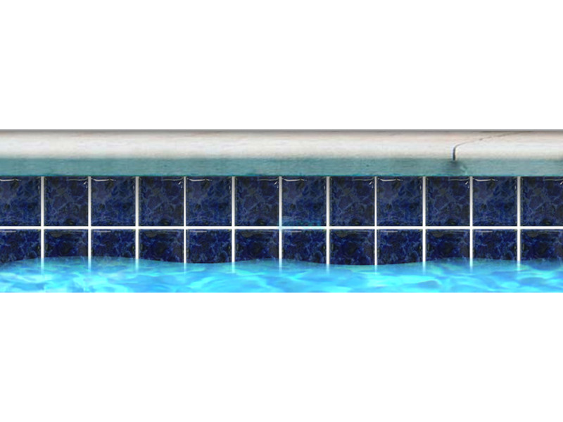Fujiwa Tile An 3x3 Series Shire Blue An332