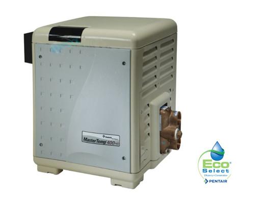 and Spa Heater Master Temp Pool Pentair 460736  Mastertemp 400,000 BTU Gas