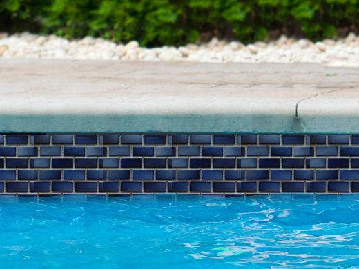 Fujiwa Tile Glasstel Mosaic Series 7 8 Quot X 1 7 8 Quot Indigo