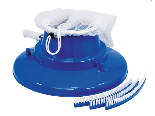 Pool Pals Big Gobbler Brush Vacuum Silt Bag Garden Hose Ready