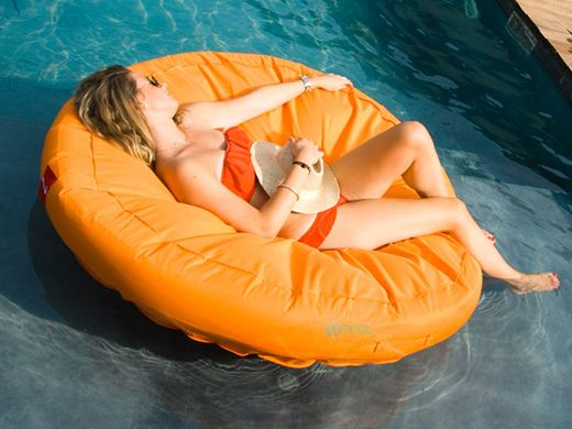 Sunsoft Fabric Covered Lounger Nt1463