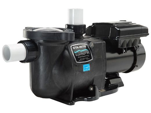 Sta Rite Supermax Vs 1 5hp Variable Speed Pool Pump 230v 343000