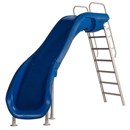 SR Smith Rogue2 Pool Slide | Left Curve | Blue | 610-209-5823