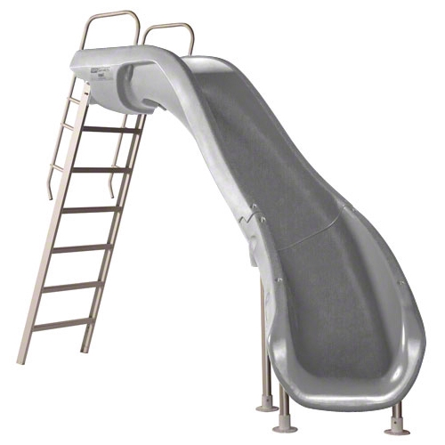 SR Smith Rogue2 Pool Slide | Right Curve Gray | 610-209-58120