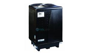 Pentair UltraTemp Heat Pump 140K BTU   Titanium Heat Exchanger   Digital Controls 3-Phase   Black   460929