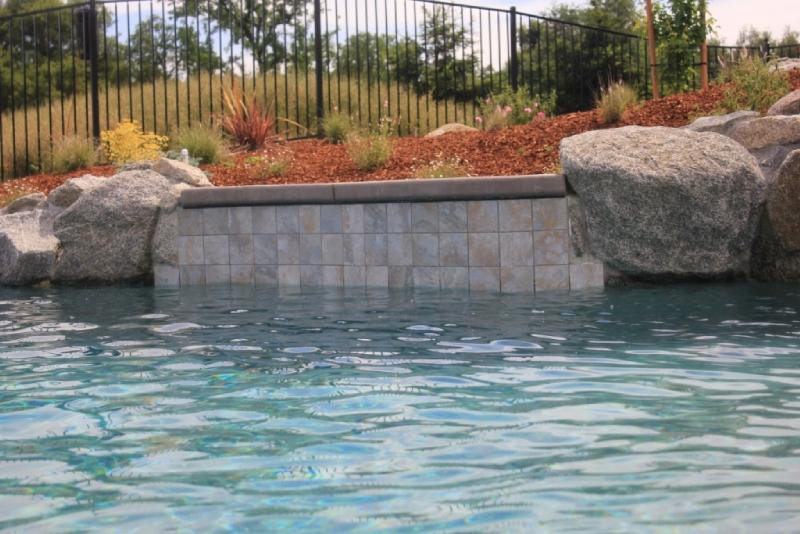 National Pool Tile Sierra 6x6 Series Blue Slate Sierra Bsl