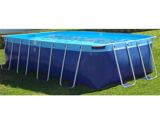 Splash a round pools quik swim 10 39 x18 39 rectangular 48 for Plastik pool rund