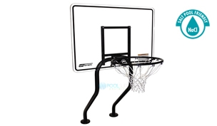 SR Smith Commercial Salt Friendly Basketball Game | Stainless Steel Frame | With Anchors | S-BASK-EC