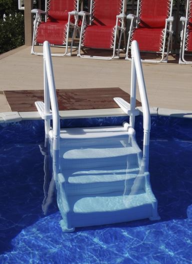 Ocean Blue Mighty Step 38 Inch Pool Step 400650