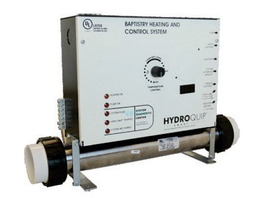 Hydroquip 5 5 Kw Baptistry Heating Control System Bcs6000