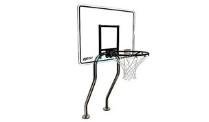 SR Smith Residential Challenge Basketball Game | Stainless Steel Frame | No Anchors | BASK-CHA