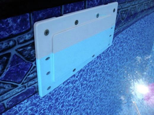 Simpooltec Inground Skimmer Plug 15 3 16 Quot X 5 5 8