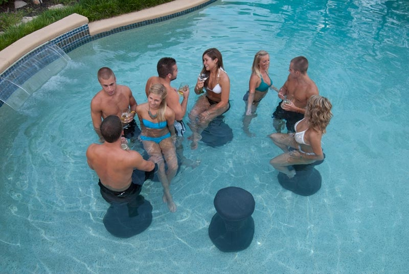 Envy Pool Products Pool Stool Led Env00301