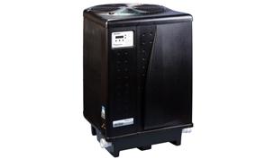 Pentair UltraTemp Heat and Cool Pump   140K BTU Heat   80K BTU Cool 230V   Titanium Heat Exchanger   Digital Controls   Black   460959