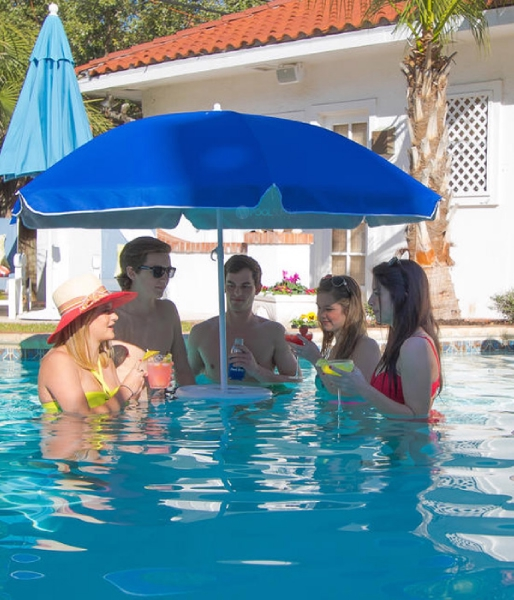 Pool Buoy Floating Pool Umbrella Blue Pb293c