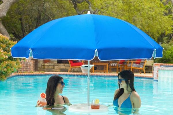 Pool Buoy Floating Pool Umbrella Blue Pb293c