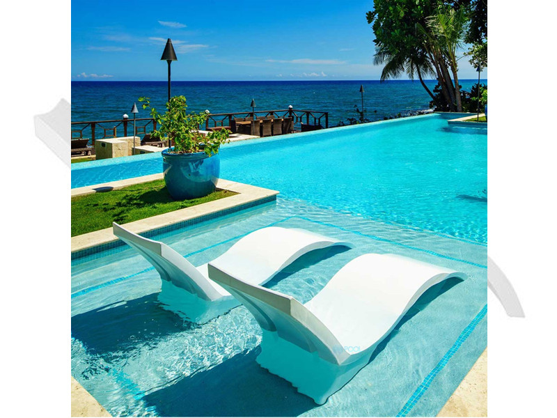 Ledge Lounger Signature Collection Chaise Deep Teal Ll