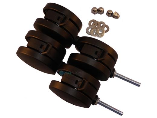 Rocky S Reel Systems 4 Quot Castors 4 Pack 585
