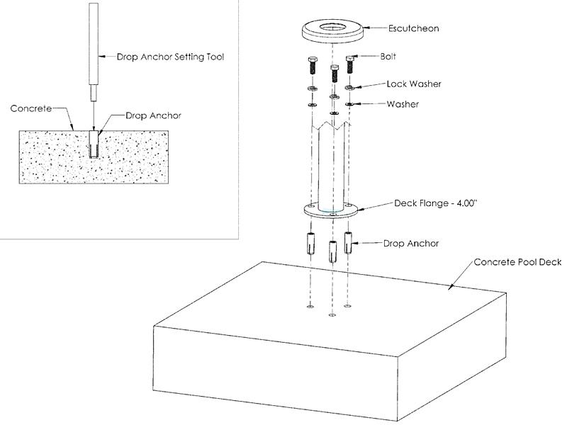 Inter fab designer series deck top 3 step ladder dr l3065s fl for House doctor ladder