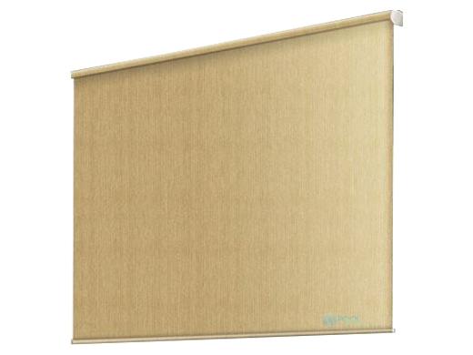 Coolaroo 80 UV Block Exterior Cordless Sun Shade 6x6 Foot Almond 474799