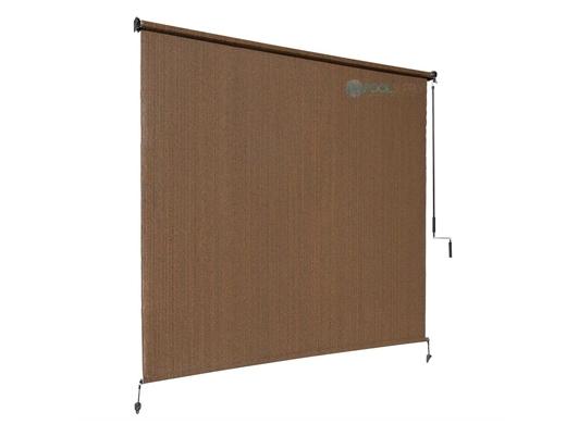 Coolaroo 90 Uv Block Exterior Cordless Sun Shade 6x6 Foot Mocha 474768