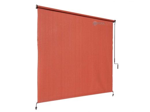 Coolaroo 90 Uv Block Exterior Cordless Sun Shade 8x6 Foot Terracota 462000