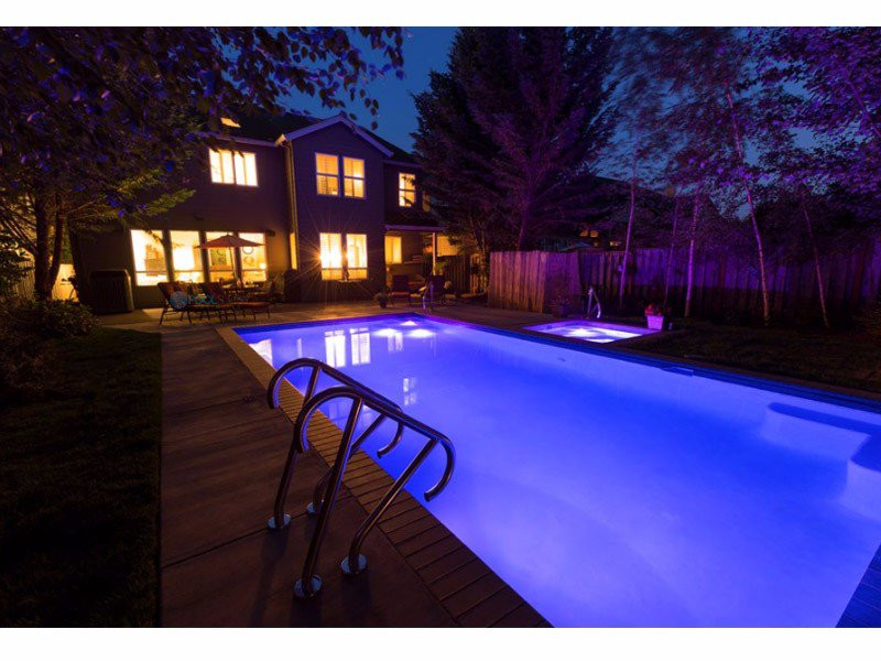 Sr Smith Treo Micro Color Led Underwater Pool Light Fled