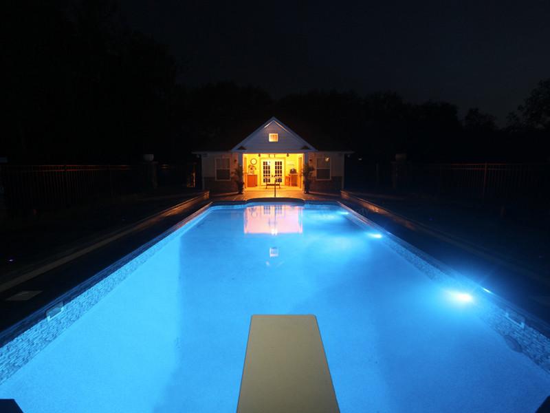 Sr Smith Fiberglass White Led Underwater Pool Light Fled