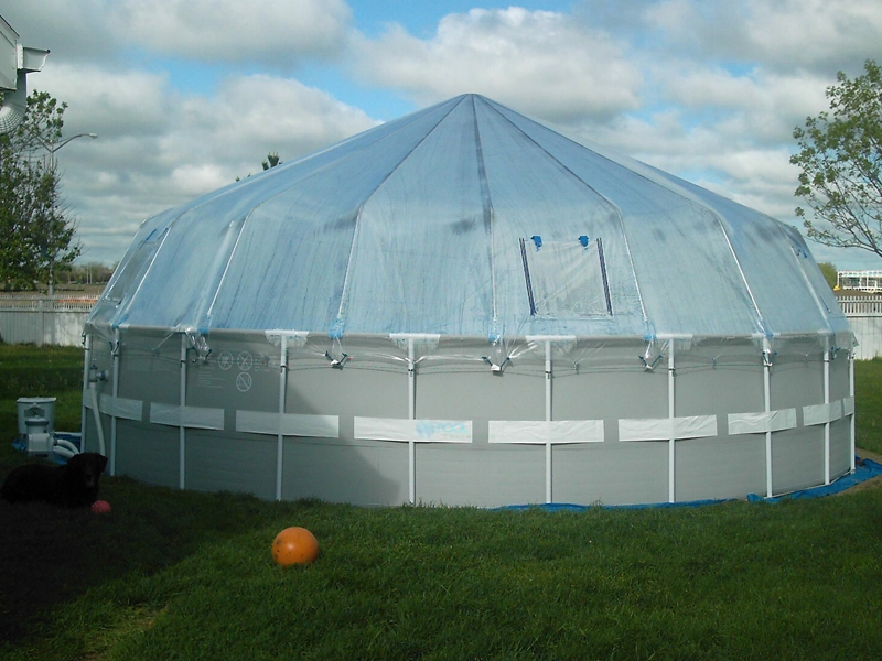 Attrayant Fabrico Sun Dome All Vinyl Dome For Soft Sided Above Ground Pools | 10u0027 X  23u0027 Rectangle | 301470
