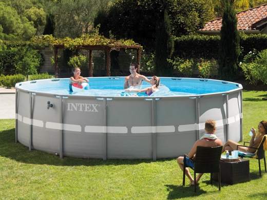 Intex Above Ground Ultra Frame Pool Set 16 Round 48