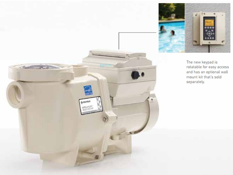Pentair IntelliFlo i2 Variable Speed Pool Pump | Time Clock Included |  3 2kw 208-230V | 011060