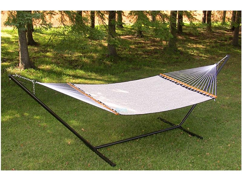 vivere 3 beam hammock stand 15 foot black steel 15beam blk  rh   poolsupplyunlimited