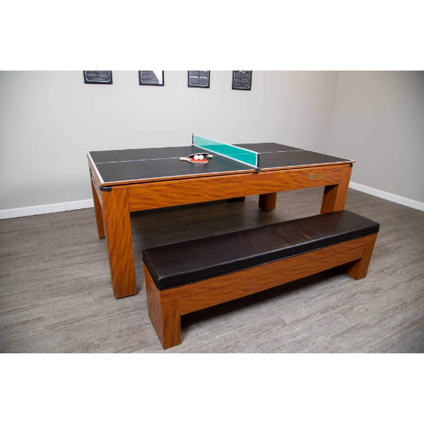 Hathaway Sherwood 7 Ft Air Hockey Table With Benches