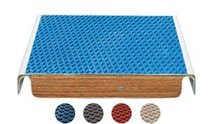 SR Smith TrueTread Series Diving Board | 6' White with Blue Top Tread | 66-209-576S2B