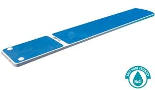 SR Smith TrueTread Series Diving Board | 8' White with Blue Top Tread | 66-209-578S2B