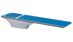 SR Smith Flyte-Deck II Stand With TrueTread Board Complete | 8' Radiant White with Blue Top Tread | 68-207-7382B