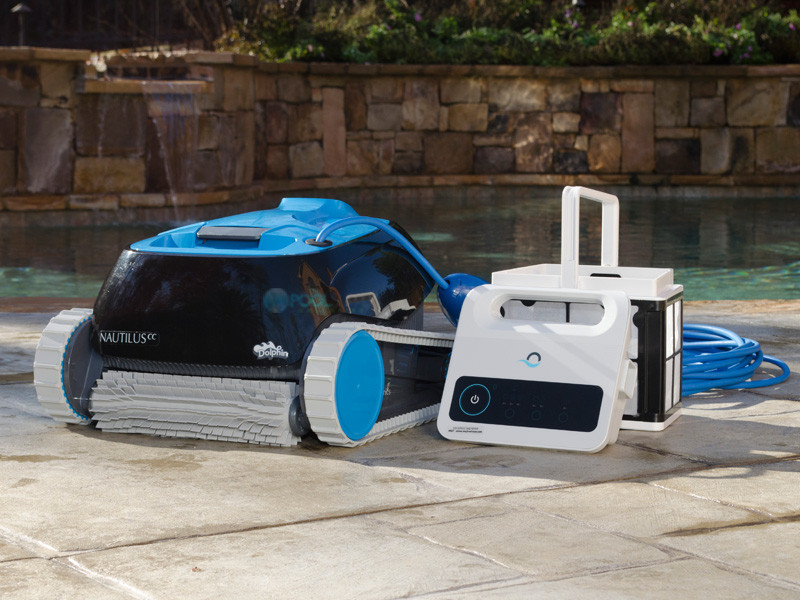 Maytronics Dolphin Nautilus Inground Robotic Pool Cleaner