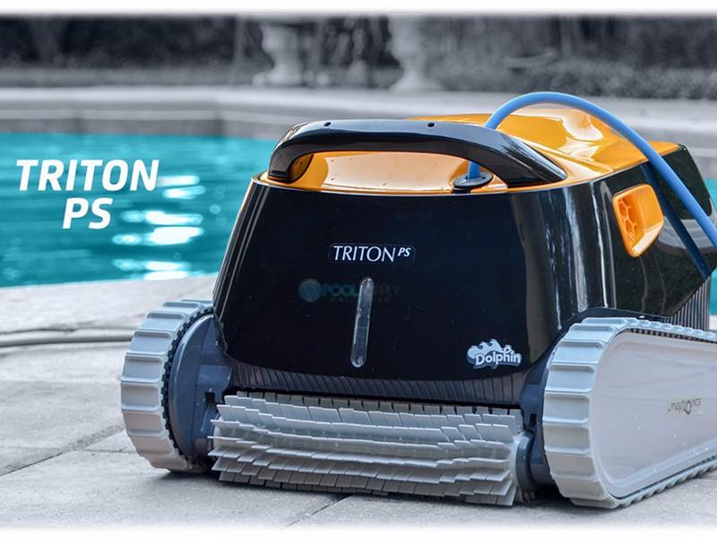 Maytronics Dolphin Triton Inground Robotic Pool Cleaner