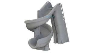 SR Smith heliX2 360 Degree Pool Slide | Solid Gray | 640-209-58120